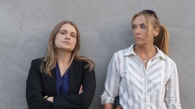 Merritt Wever y Toni Collette en una imagen de 'Unbelievable', de