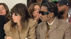 Lou Doillon et A$AP Rocky font sensation à la Fashion Week de