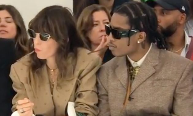 Lou Doillon et A$AP Rocky font sensation à la Fashion Week de Milan