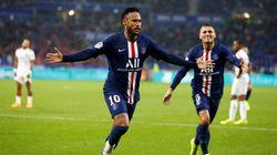 Sauvé par Neymar, le PSG s'impose 1-0 face à