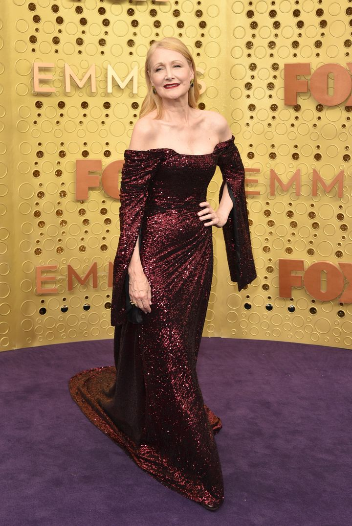 LOS ANGELES, CALIFORNIA - SEPTEMBER 22:  Patricia Clarkson attends the 71st Emmy Awards at Microsoft Theater on September 22, 2019 in Los Angeles, California. (Photo by John Shearer/Getty Images)