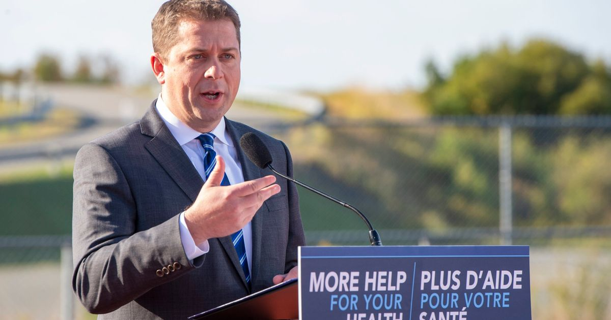 Andrew Scheer Falsely Claims Liberals Want To Decriminalize All Drugs