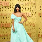 The Best Accessory On The Emmys Red Carpet Was Jameela Jamil's String