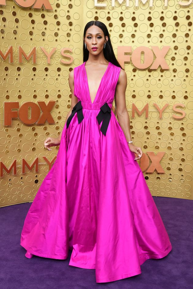 Mj Rodriguez attends the 71st Emmy Awards at Microsoft Theater on September 22, 2019 in Los Angeles,