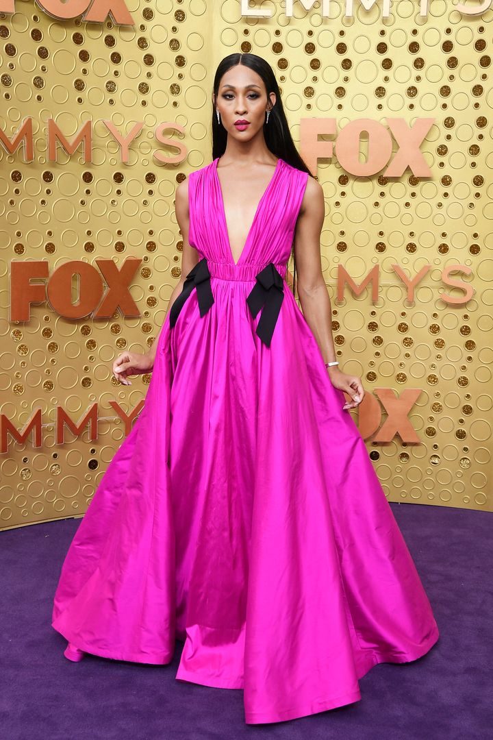 Mj Rodriguez attends the 71st Emmy Awards at Microsoft Theater on September 22, 2019 in Los Angeles, California.
