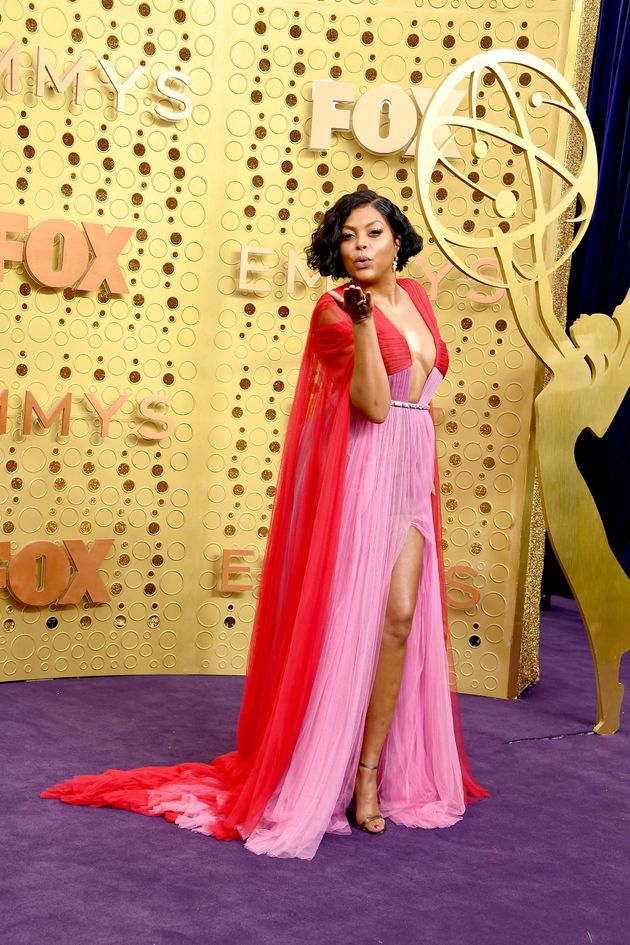 Taraji P. Henson attends the 71st Emmy Awards at Microsoft Theater on September 22, 2019 in Los Angeles,