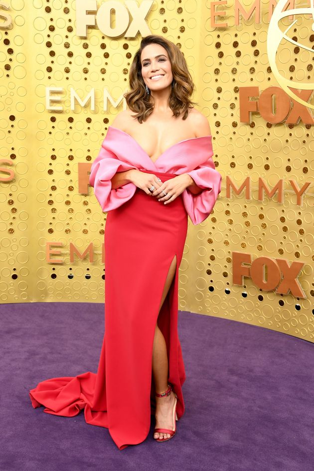 Mandy Moore attends the 71st Emmy Awards at Microsoft Theater on September 22, 2019 in Los Angeles,