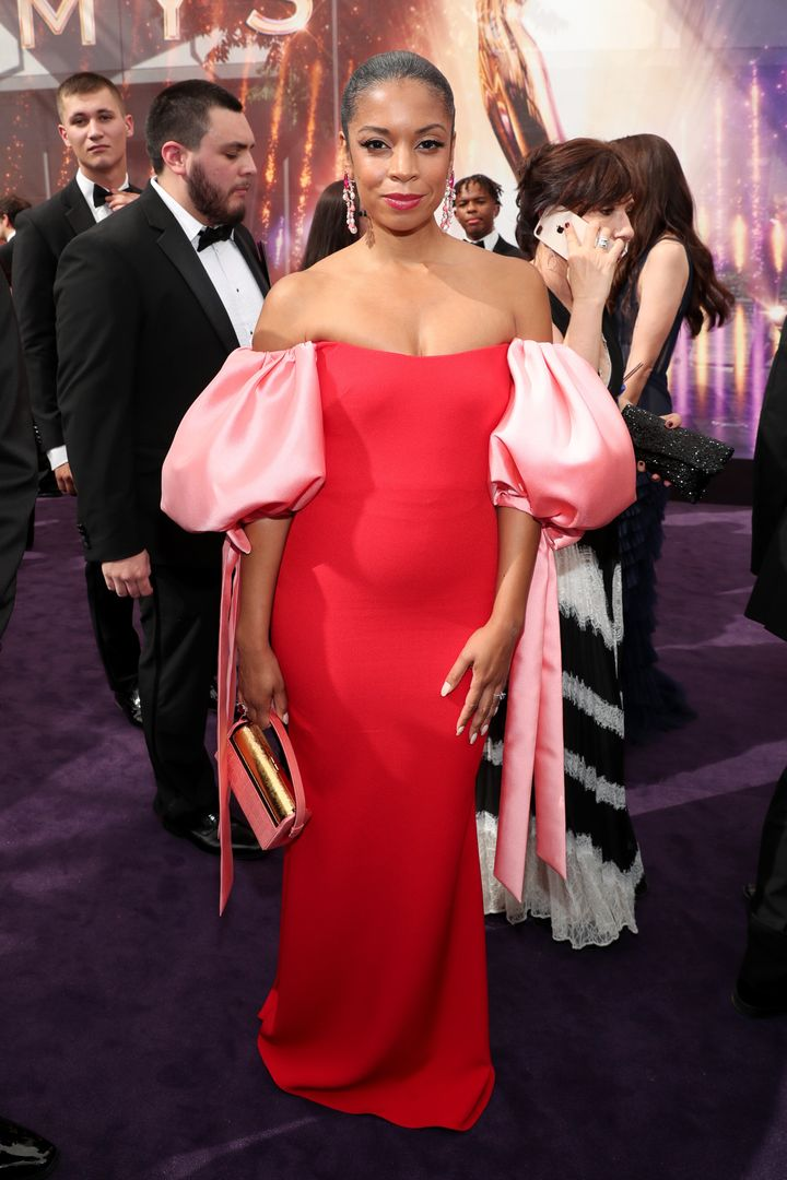 Susan Kelechi Watson attends the 71st Emmy Awards at Microsoft Theater on September 22, 2019 in Los Angeles, California.