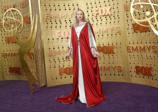 """Aux Emmy Awards 2019, Gwendoline Christie de """"Game of Thrones"""" était une déesse"""