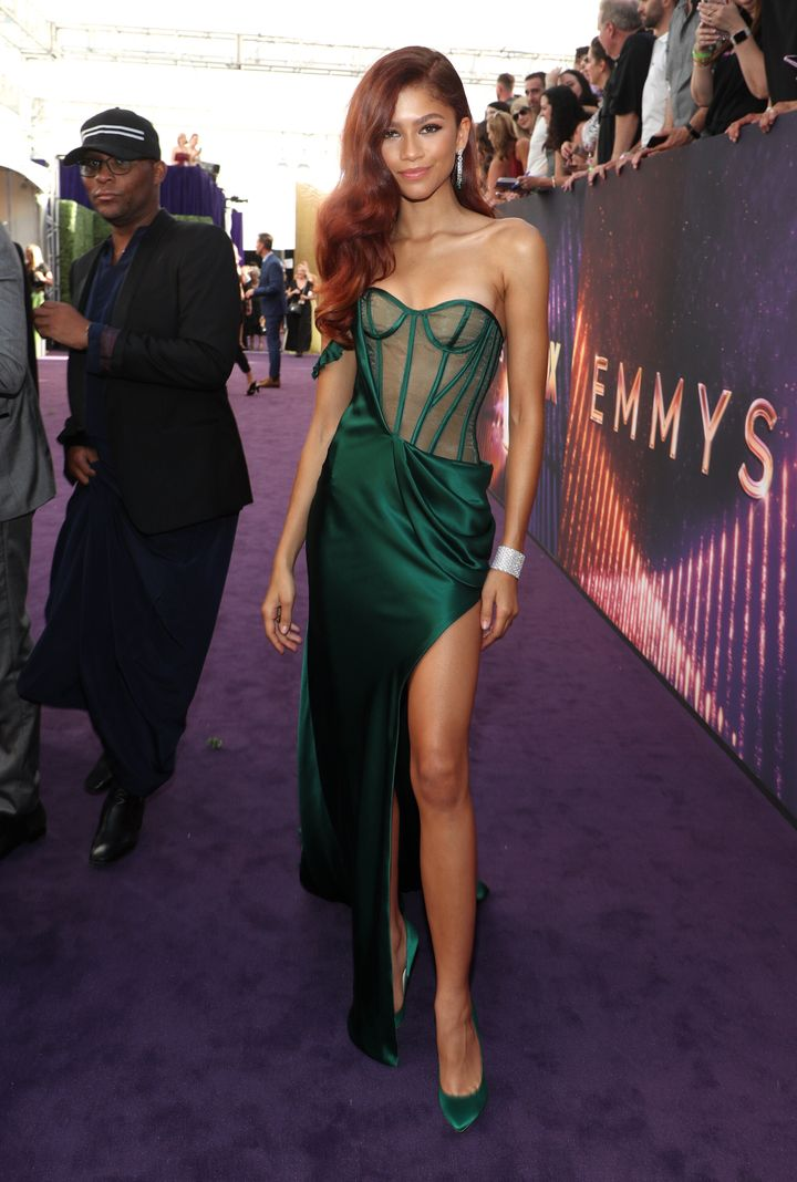 Zendaya at the 71st Primetime Emmy Awards in Los Angeles on Sunday, September 22.