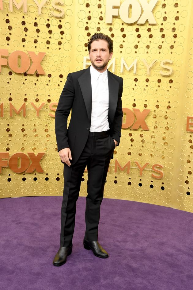 LOS ANGELES, CALIFORNIA - SEPTEMBER 22: Kit Harington attends the 71st Emmy Awards at Microsoft Theater...