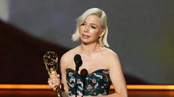Michelle Williams Brings Busy Philipps To Tears In Emmys Speech On Gender