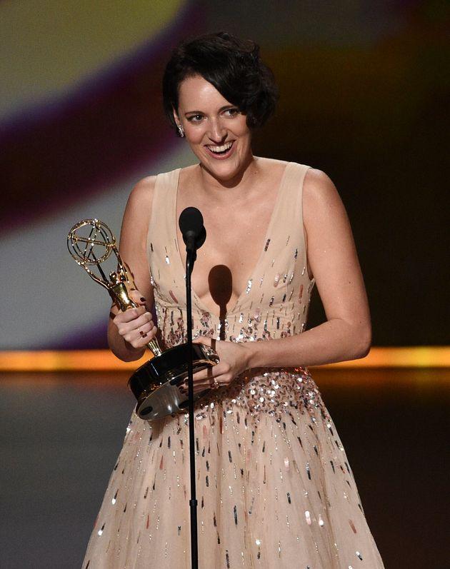 Phoebe Waller-Bridge foi a grande estrela da noite do Emmy