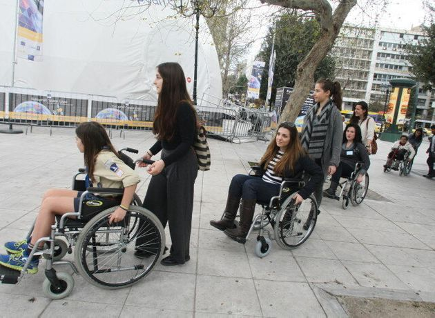Ο δήμος Αθηναίων στηρίζει τη δράση προσομοίωσης κινητικής και αισθητηριακής