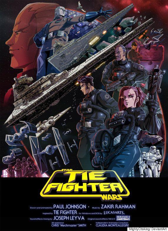 TIE Fighter: Ταινία μικρού μήκους με το «Star Wars» όπως δεν το έχετε