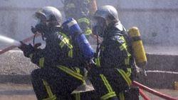 Τραυματίσθηκαν ελαφρά δύο πυροσβέστες κατά τη διάρκεια κατάσβεση