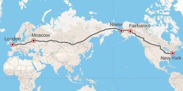 Λονδίνο-Νέα Υόρκη: Αυτός είναι ο 21.000 χιλιόμετρα νέος