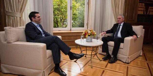 Η πρώτη συνάντηση Τσίπρα – Κουβέλη μετά τις εκλογές: «Στηρίζουμε την προσπάθεια της