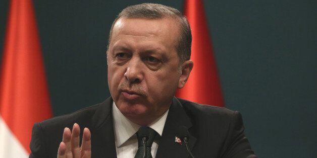 Ο Τούρκος πρόεδρος (φωτογραφία
