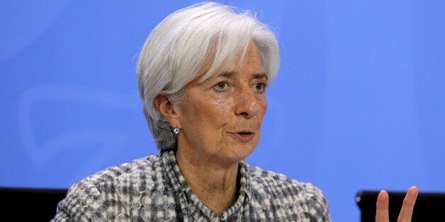 BERLIN, GERMANY - MARCH 11: Managing Director (MD) of the International Monetary Fund (IMF) Christine...