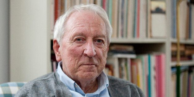 FILE - This is a Oct. 6, 2011 file photo of Swedish poet and winner of the Nobel Prize in Literature...