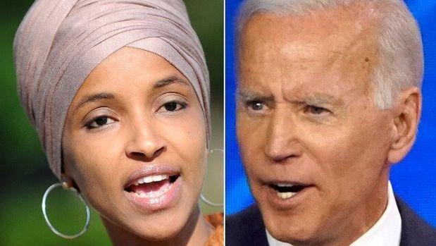 Ilhan Omar, Joe Biden