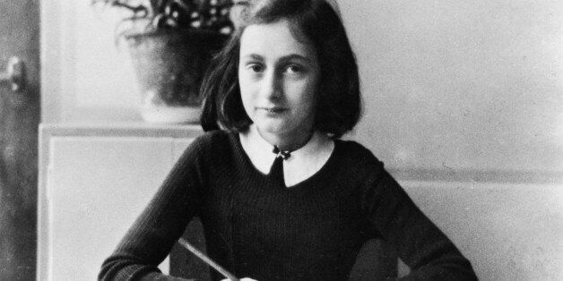 (GERMANY OUT) ' Anne Frank, German Jew who emigrated with her family to the Netherlands during the Nazi...