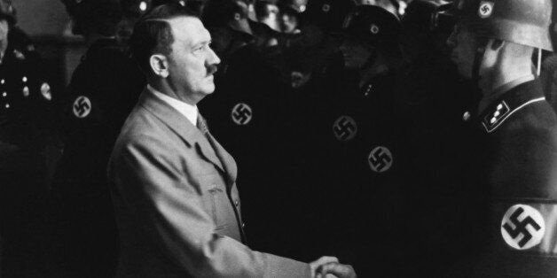 GERMANY - APRIL 20: Hitler Celebrating His Birthday At The Ss School At Tolz In Germany On April 20Th...