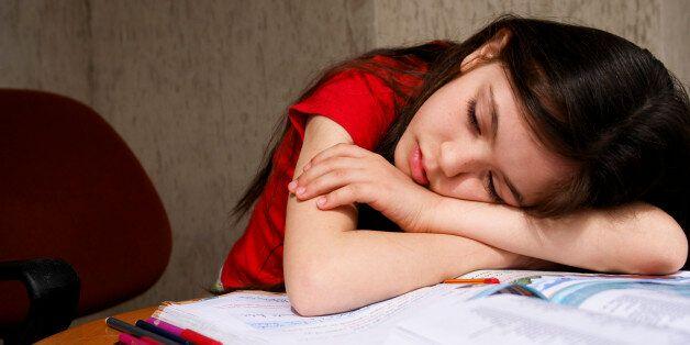 Sleep on homework