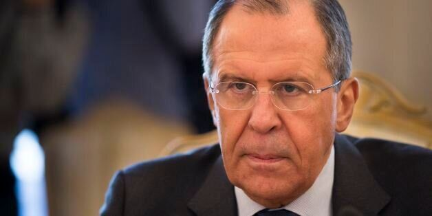 Russian Foreign Minister Sergey Lavrov meets with counterpart from Georgia's breakaway region of Abkhazia...