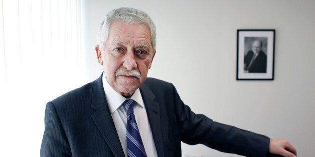 Fotis Kouvelis, Greece's Democratic Left party leader, poses for a photograph at his office in Athens,...