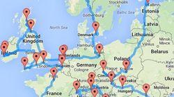 Η τέλεια διαδρομή για το γύρο της Ευρώπης με αυτοκίνητο περνάει φυσικά και από την