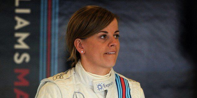 Scottish Suzie Wolff of Williams, the first woman to take part in a Formula 1 race weekend in 22 years,...