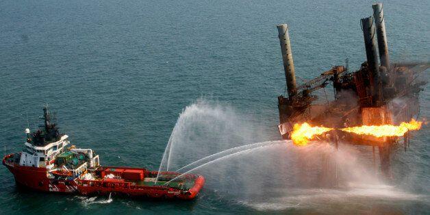 Φωτογραφία αρχείου από προηγούμενο ατύχημα της PEMEX (2007,