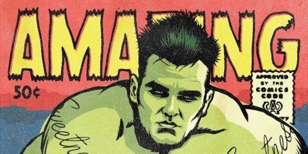 Όταν οι ροκ σταρ γίνονται κόμικ της Marvel : Ο Morrissey ως Hulk και ο Ian Curtis σαν