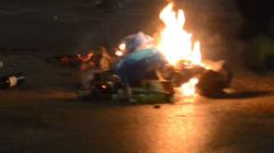 Ανάληψη ευθύνης για την επίθεση στα γραφεία του ΣΥΡΙΖΑ στα Πατήσια από τη «Μηδενιστική περίπολο/ Εμπρηστές της
