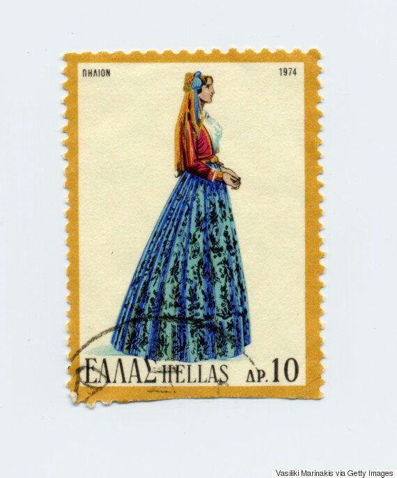 Από την Κρήτη ως την Ήπειρο: Οι παραδοσιακές ελληνικές φορεσιές που έγιναν γραμματόσημα και ταξίδεψαν...