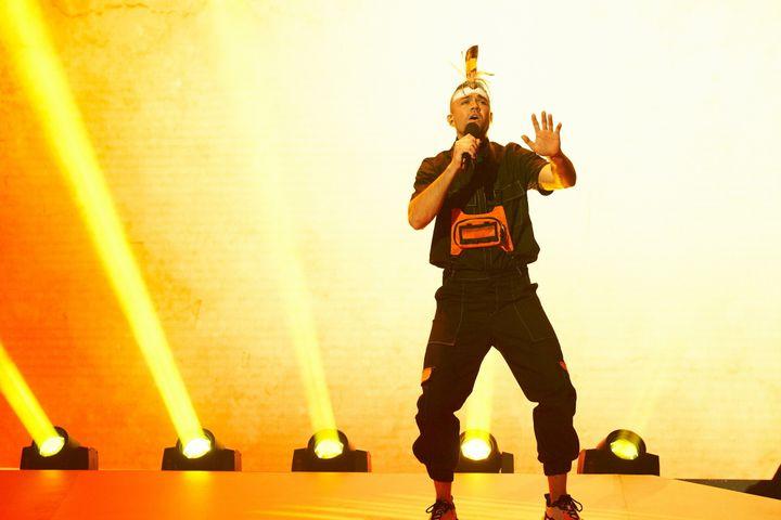 Mitch Tambo on Australia's Got Talent.