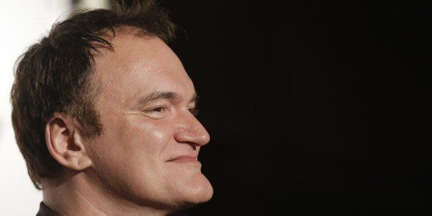 Director Quentin Tarantino looks on as he arrives at the opening ceremony of the 5th edition of the Lumiere...