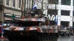 Η στρατιωτική παρέλαση της 25ης