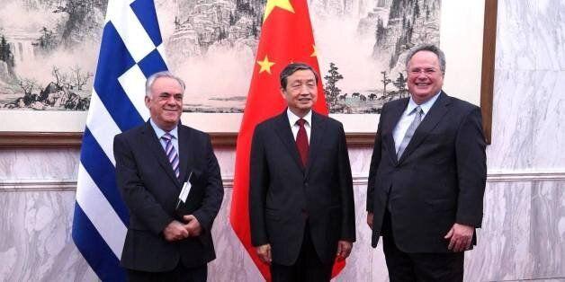 Δραγασάκης - Κοτζιάς στην Κίνα: Αμοιβαίο ενδιαφέρον για εμβάθυνση των διμερών οικονομικών