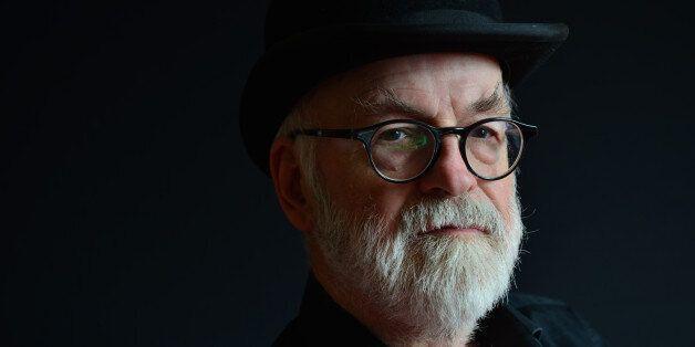 LONDON, UNITED KINGDOM - SEPTEMBER 18: Portrait of English fantasy author Sir Terry Pratchett, photographed...