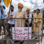 #AdiosModi: The Giant Protests Outside 'Howdy Modi' That The Indian Media Didn't Show