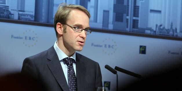 Jens Weidmann, president of the Bundesbank and governing council member of the European Central Bank...