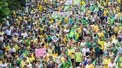 Ογκώδεις διαδηλώσεις κατά της Ρούσεφ στη