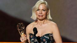 El contundente discurso de Michelle Williams en los Emmy por la igualdad