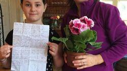 10χρονη ξαναβρήκε το γράμμα που είχε γράψει στον νεκρό πατέρα της, το οποίο είχε