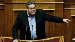 Καμμένος: «Η Ελλάδα ενωμένη μπορεί να αντιμετωπίσει κάθε απειλή είτε αυτή είναι πολεμική είτε είναι