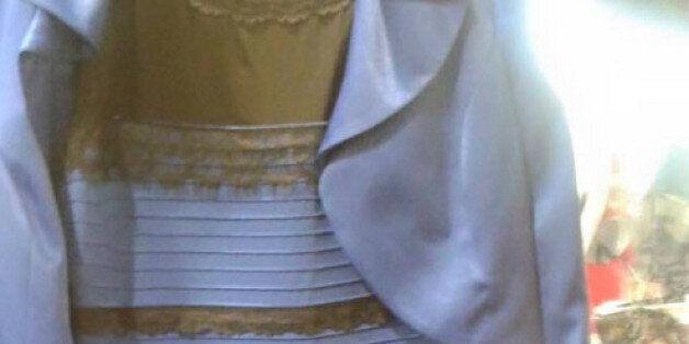 Τι χρώμα είναι τελικά αυτό το φόρεμα; Λευκό ή