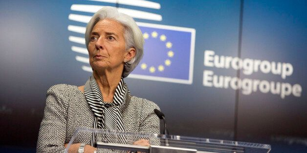 Η επικεφαλής του ΔΝΤ, Κριστίν